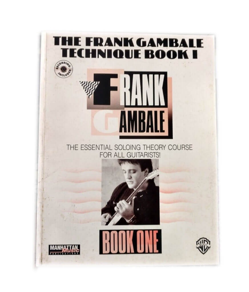 The Frank Gambale Technique Book 1 - Guitar  - MMBK0002CD
