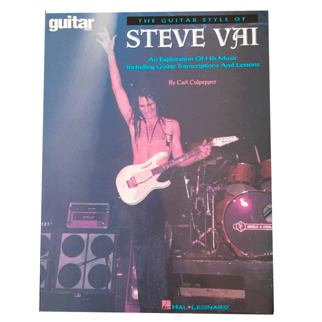 The Guitar Style of Steve Vai Guitar School HL00660025