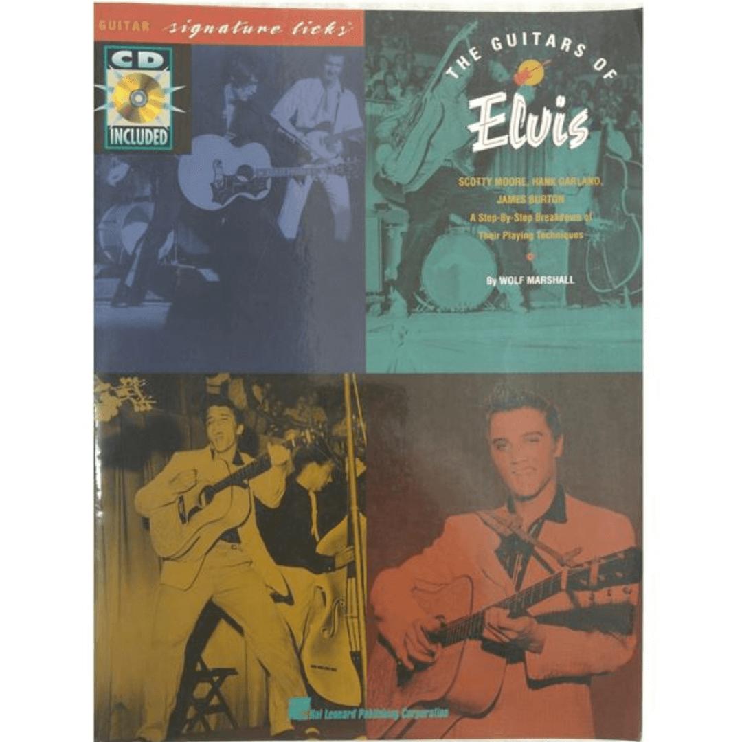 The Guitars of Elvis Guitar Signature Licks ( Com CD ) HL00696507