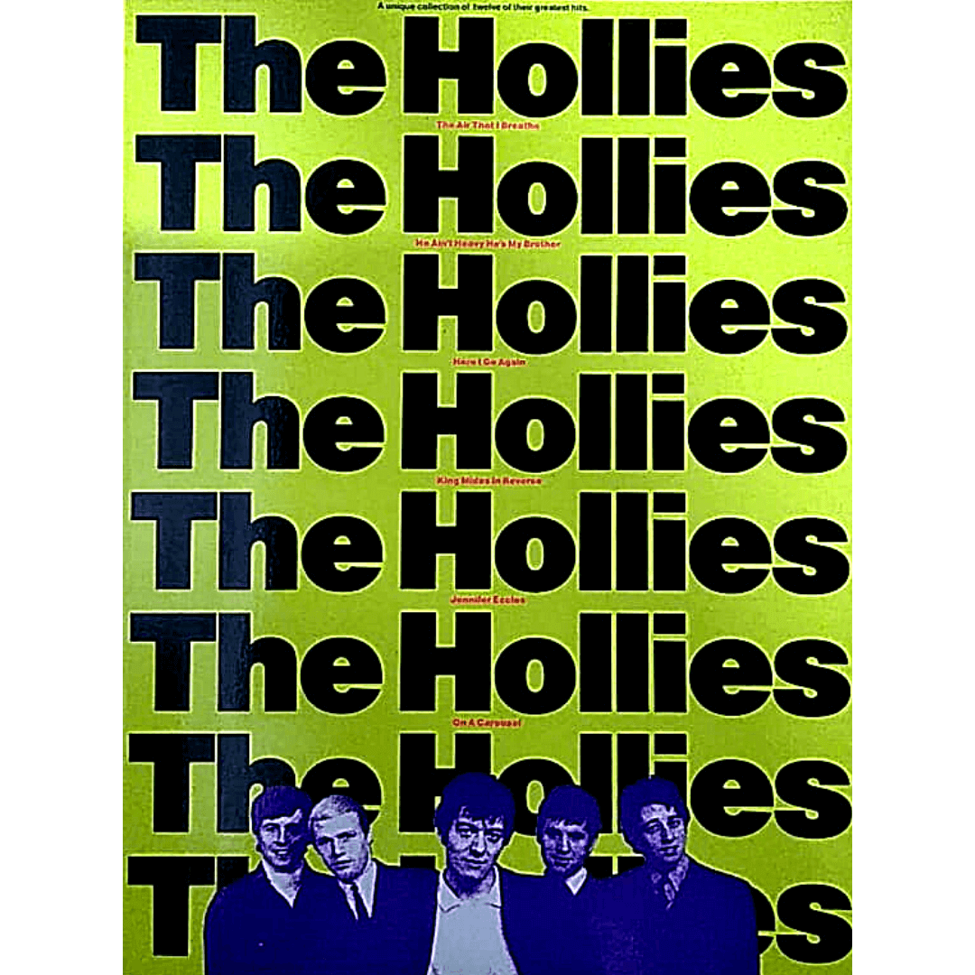 The Hollies A Unique Collection of Twelve of Their Greatest Hits AM77140