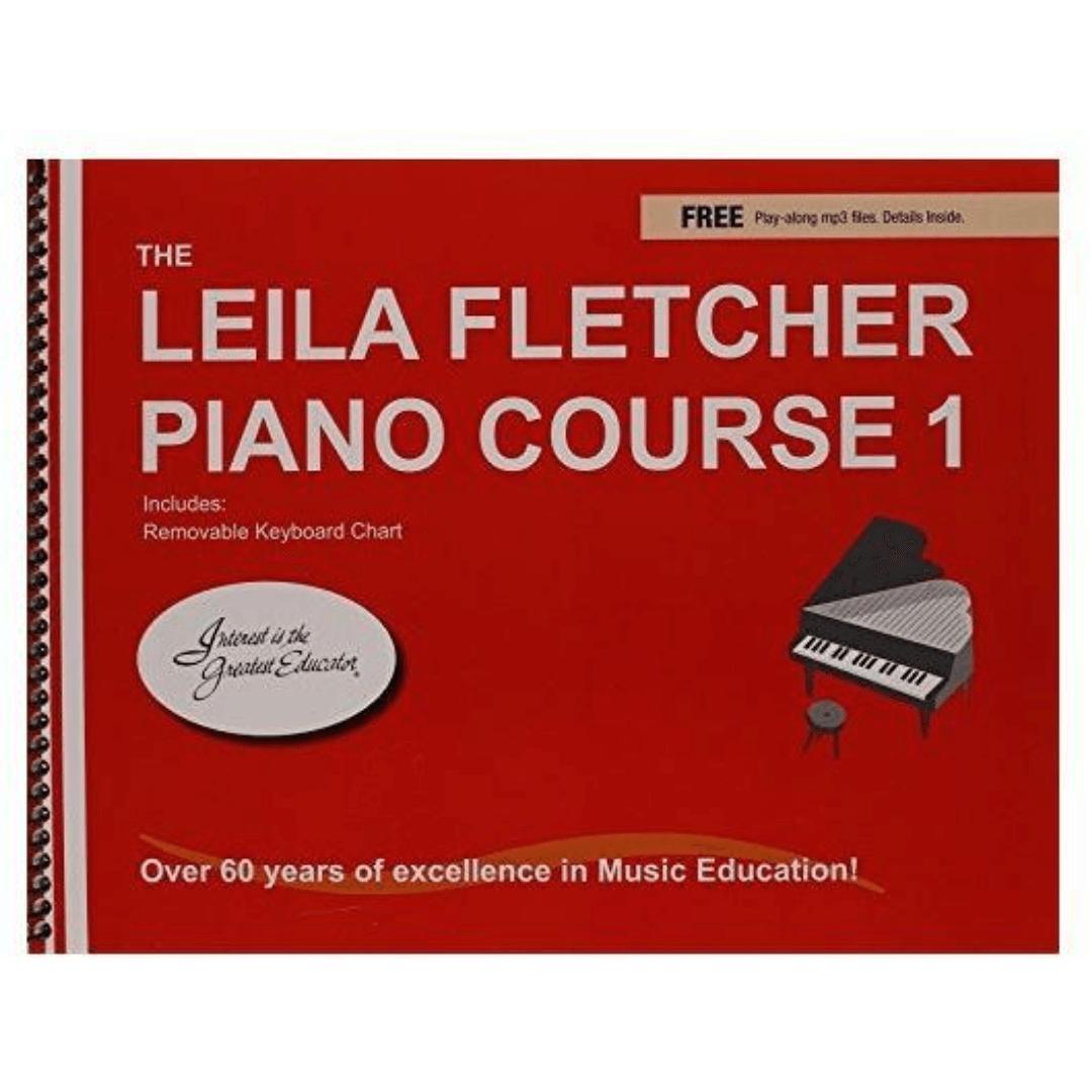 The Leila Fletcher Piano Course 1 - ( Com Edição Em Inglês ) - Lf001