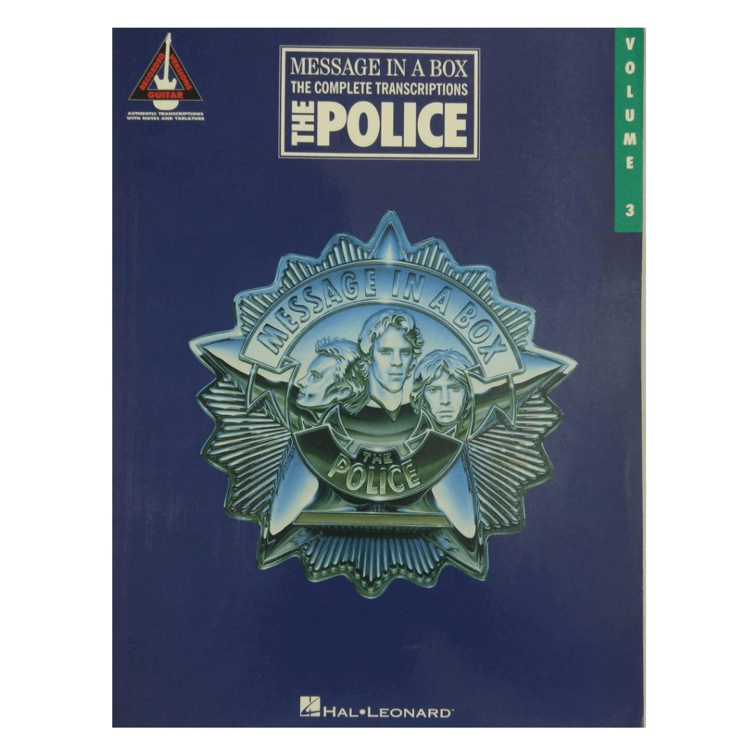 The Police Message in a Box The Complete Transcriptions, Guitar - Volume 3 - HL00694965