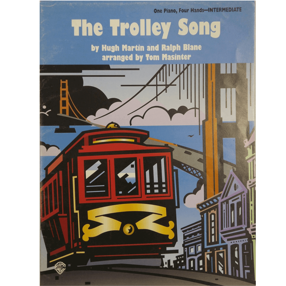 The Trolley Song - One Piano, Four Hands - Intermediate PAM0103