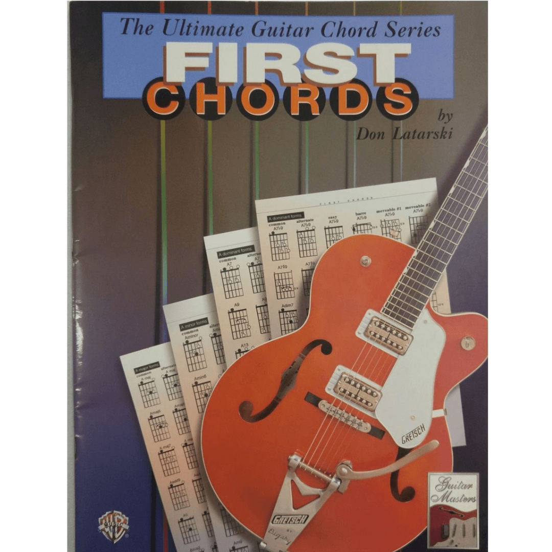The Ultimate Guitar Chord Book Series - First Chords by Don Latarski - 0370B