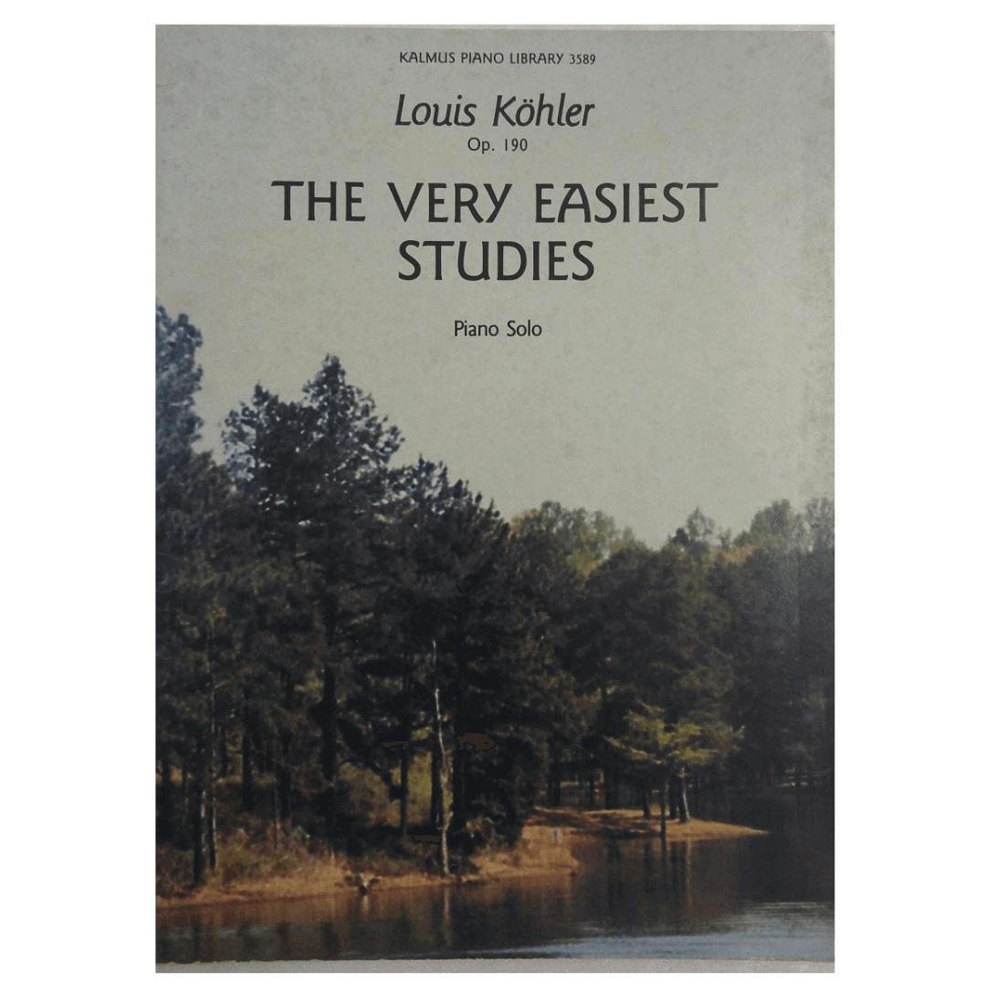 The Very Easiest Studies Piano Solo - Louis Kohler Op. 190 - 3589