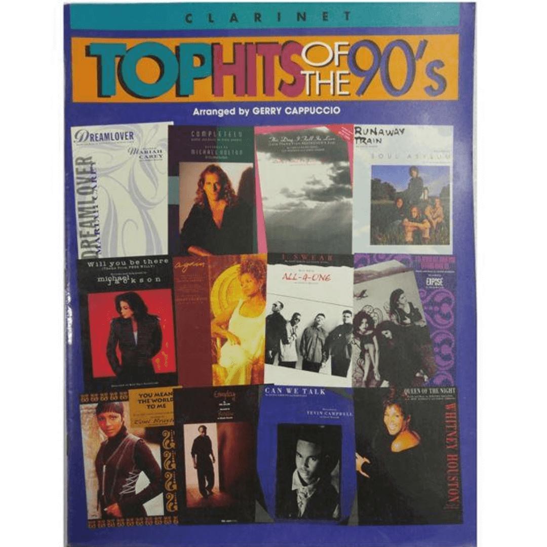 TOP HITS OF THE 90' s Arranged by Gerry Cappuccio Clarinet ( Melhores sucessos dos anos 90 )