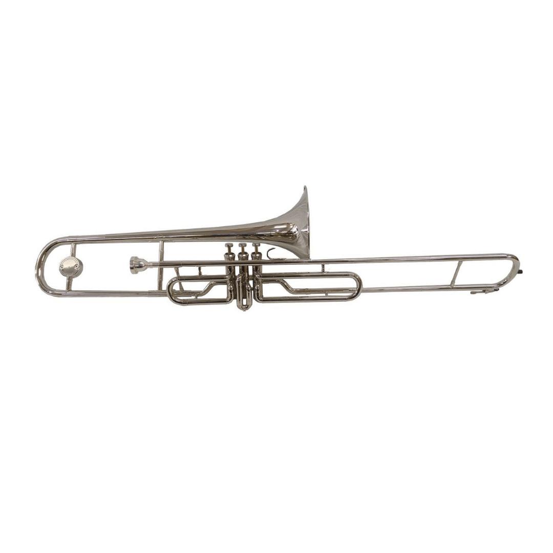Trombone De Pisto Conductor M4105 Em Sib Niquelado
