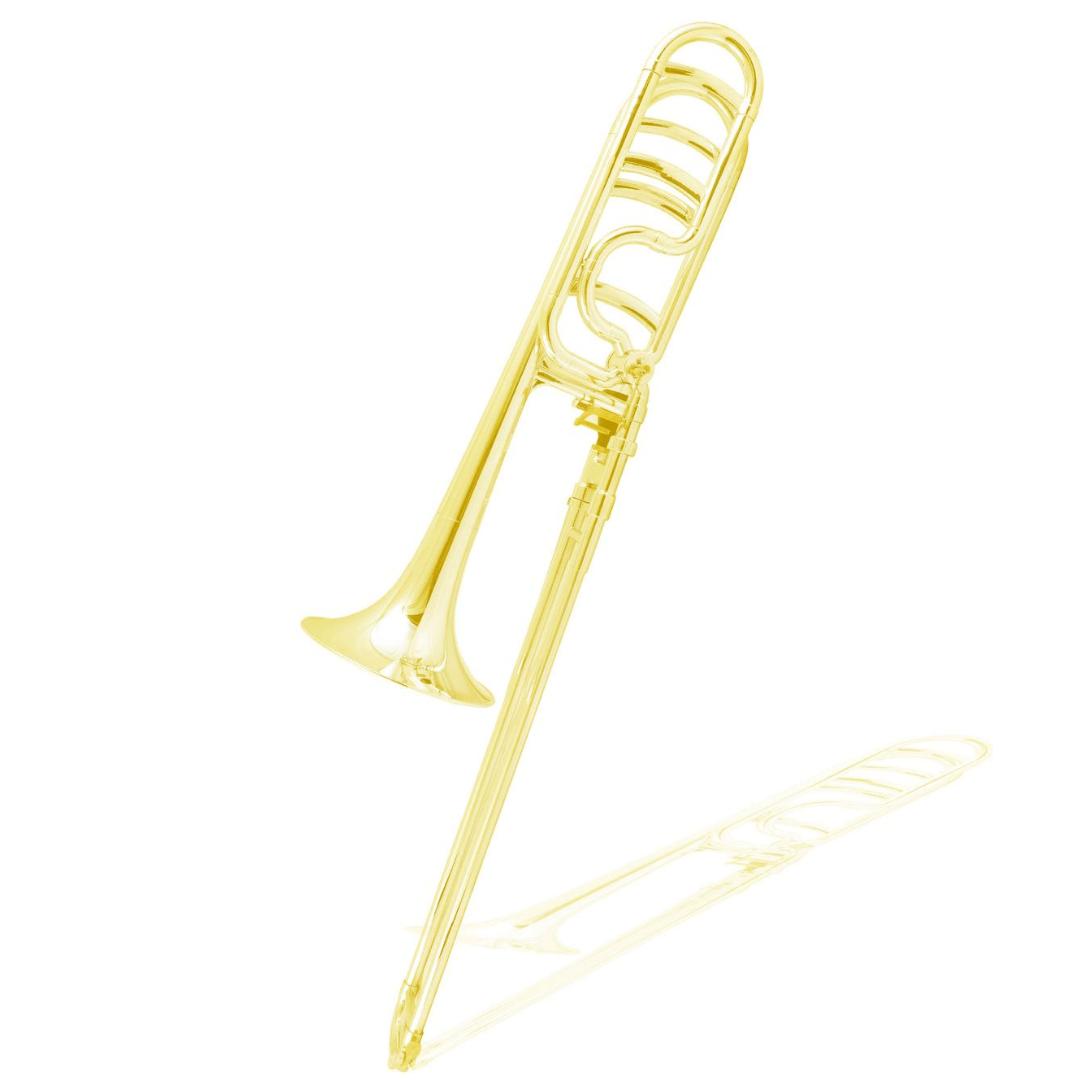 Trombone Tenor Bb/F - (Si bemol/Fá) em ABS ZO ZTB30