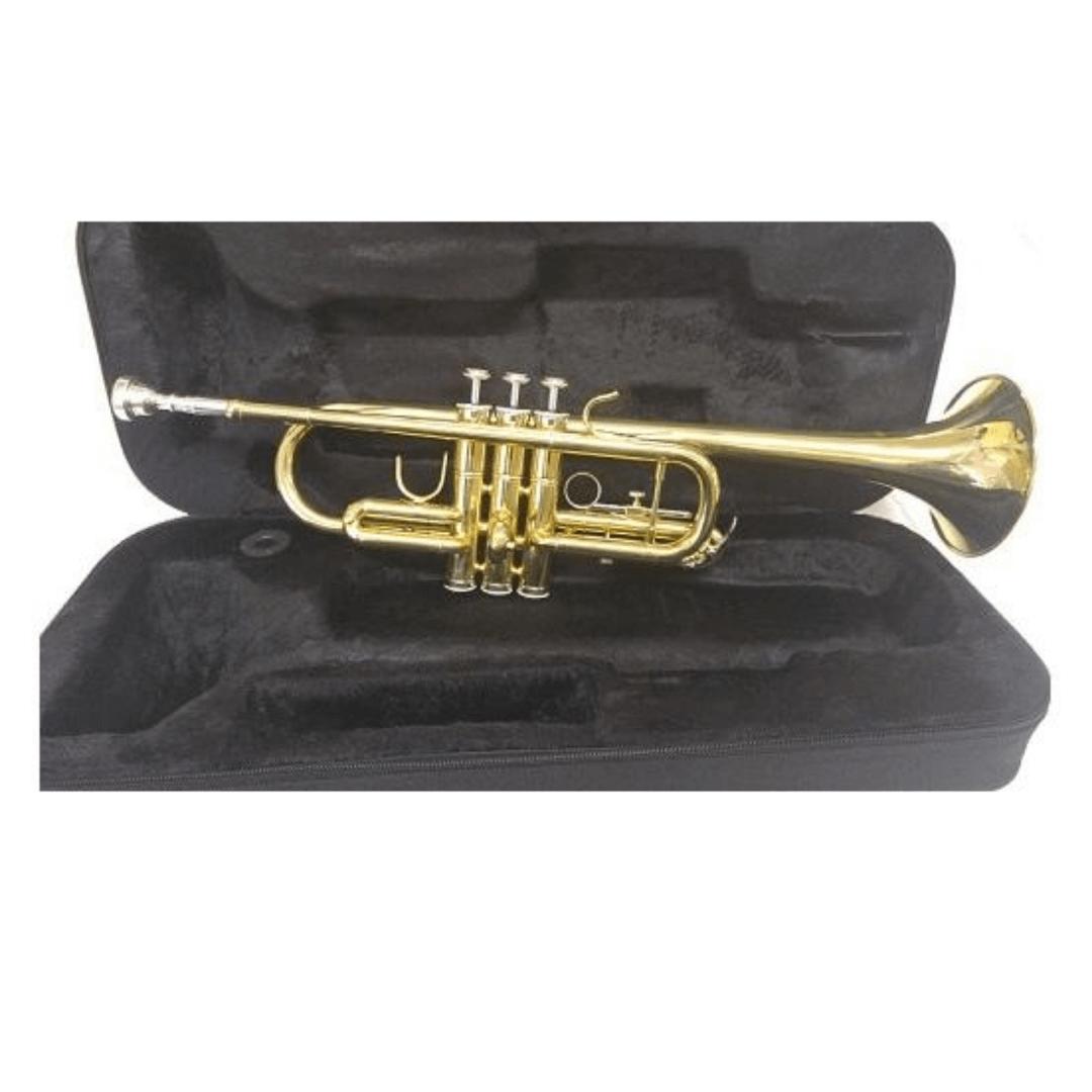 Trompete Ascent ASTR700L Laqueado Afinação em DÓ ( C )