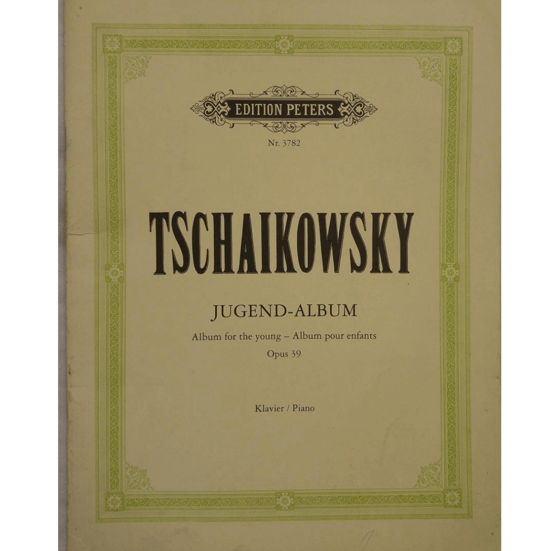 Tschaikowsky Jugend - Album for the young - Album pour enfants Opus 39 Klavier / Piano NR3782