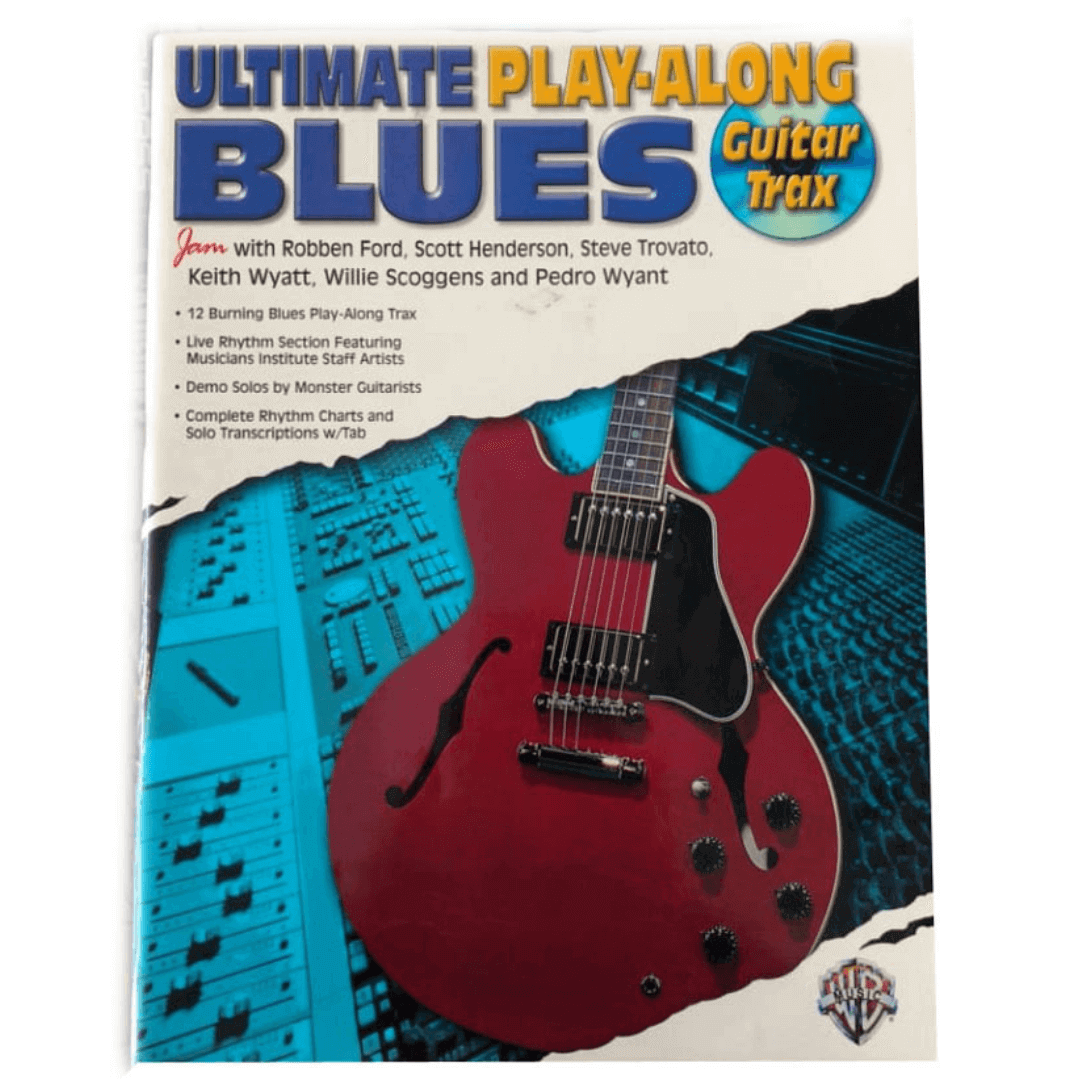 Ultimate Play-Along Blues Guitar Trax: CPM0002ACD