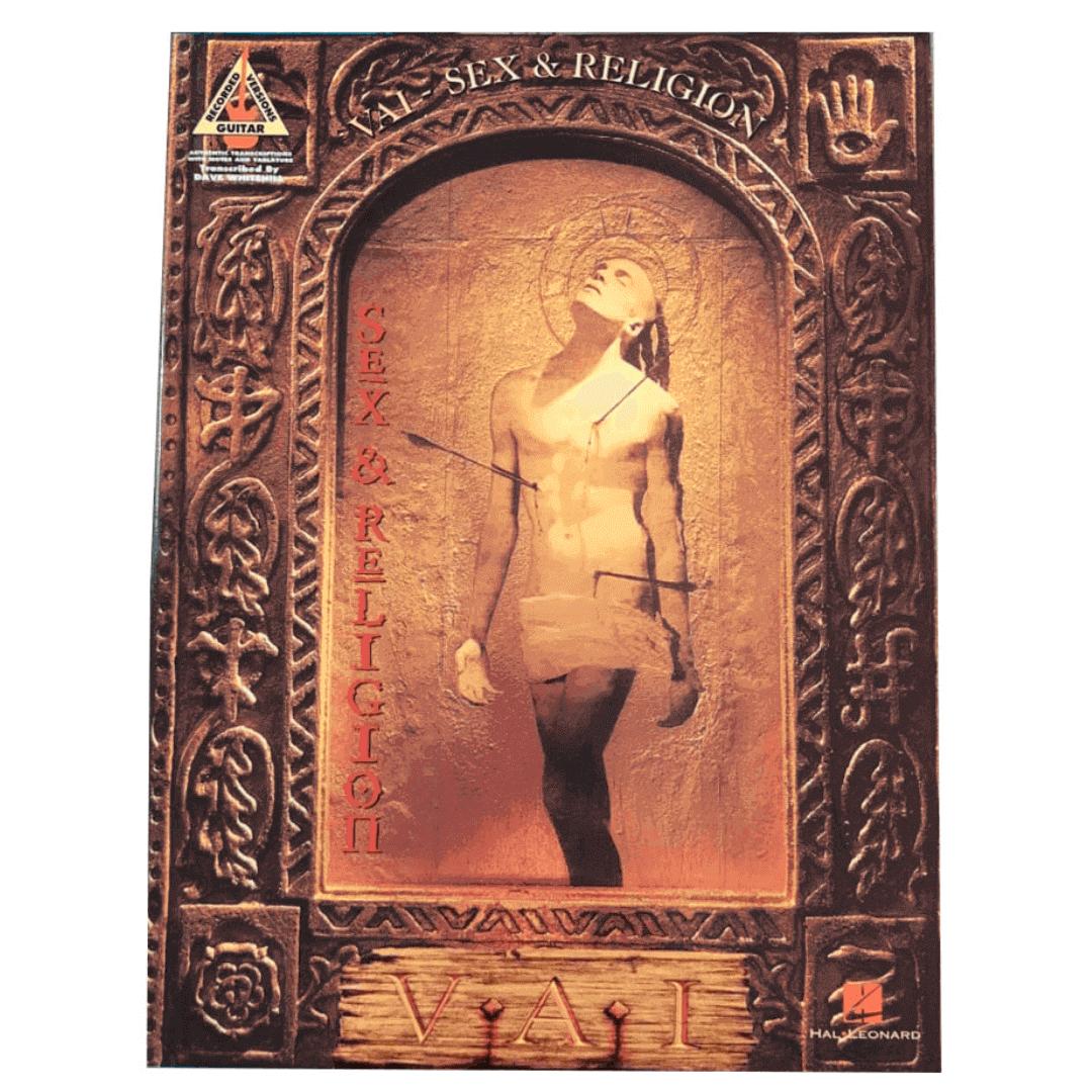 Vai: Steve Vai - Sex & Religion: Guitar Recorded Versions - HL00694904