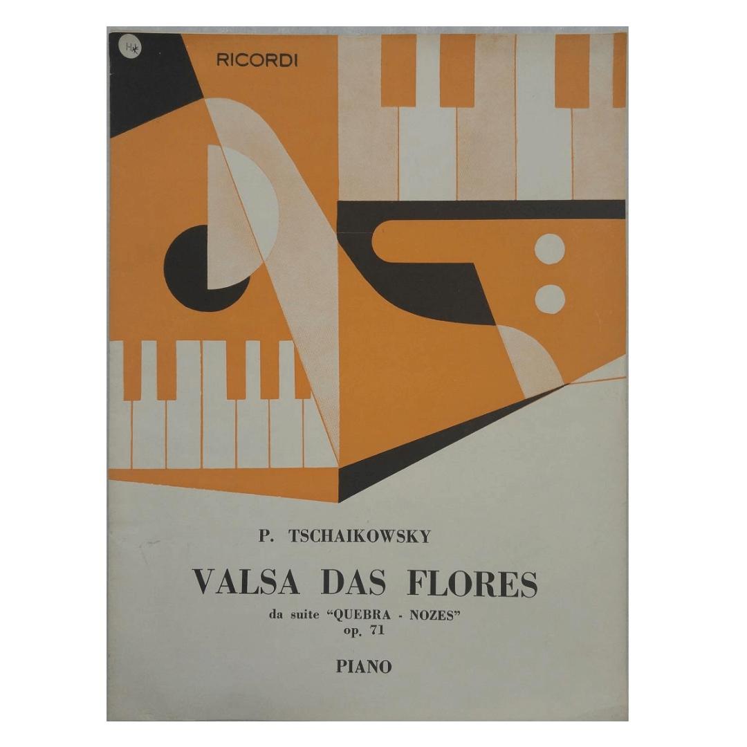 VALSA DAS FLORES da suite '' QUEBRA - NOZES' Op.71 - P. TSCHAIKOWSKY - PIANO - BR2659