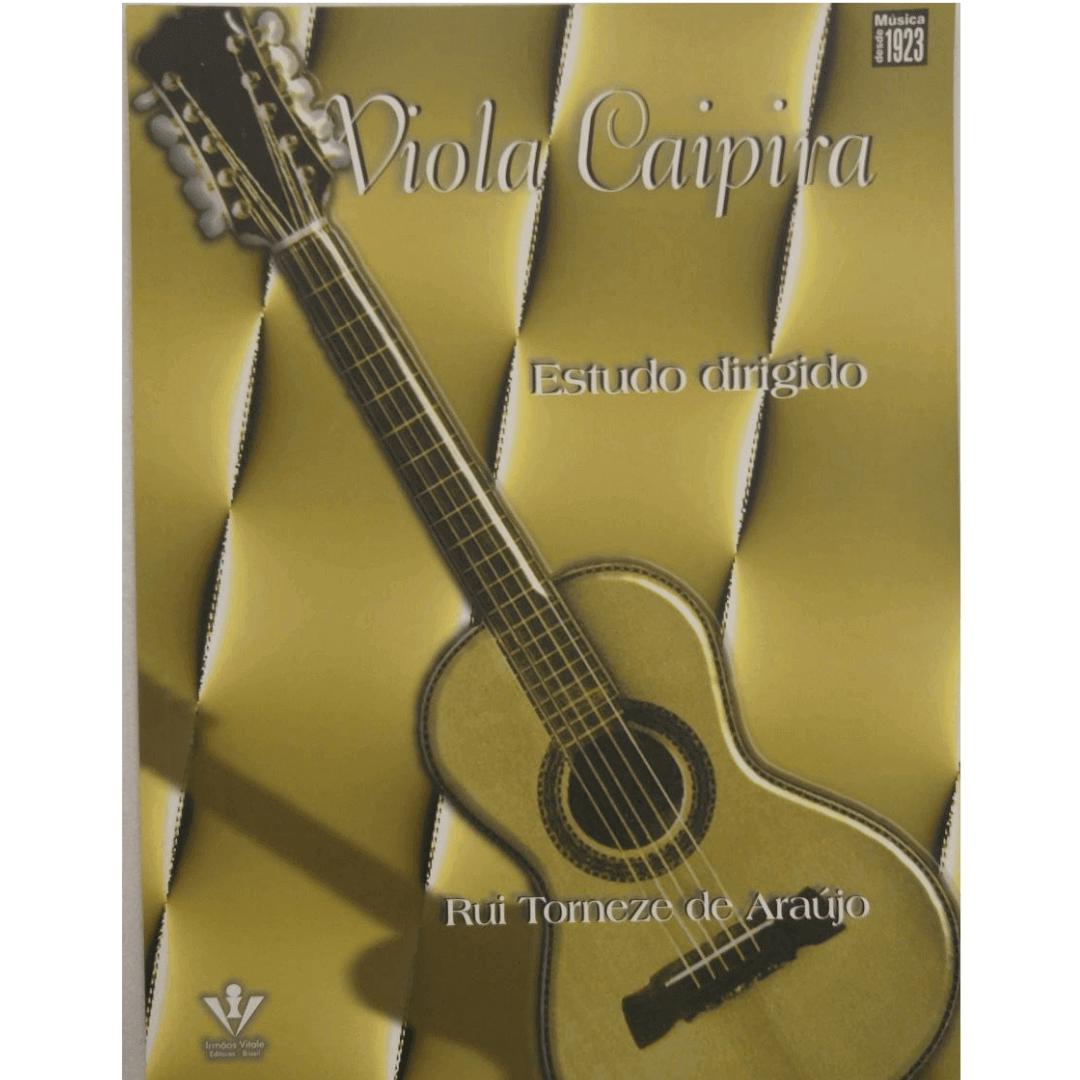 Viola Caipira Estudo Dirigido - Rui Torneze de Araujo - 348M