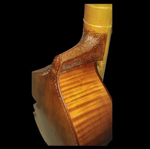 Viola da Gamba 6 cordas Artigo de Luthieria