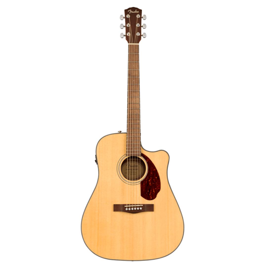 Violão Fender Dreadnought Com Case 097 0213 - Cd-140 Sce - 321 - Natural