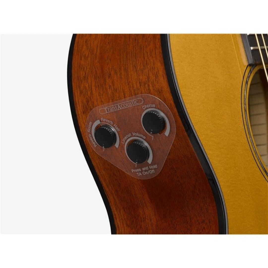 Violão TransAcoustic Elétrico Aço Yamaha CSF-TA NT Natural