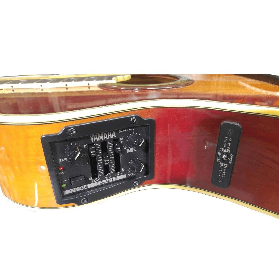 Violão Yamaha APX10C ASS Elétrico Mini Jumbo Aço