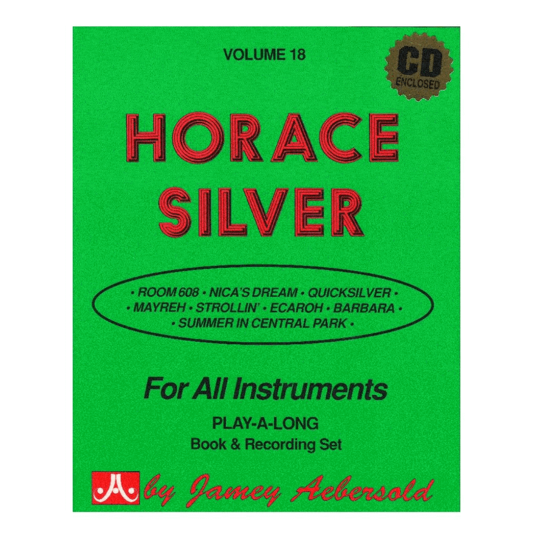 Volume 18 Horace Silver - Jamey Aebersold, para todos os instrumentos C/CD V18DS