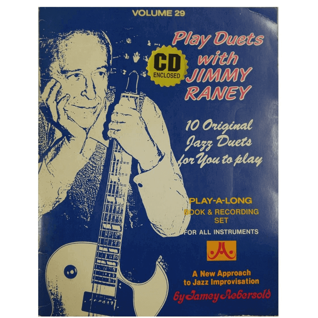 Volume 29 Play Duets With Jimmy Raney - Jamey Aebersold, Para todos os instrumentos C/CD V29DS