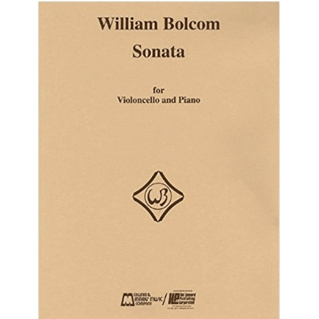 William Bolcom Sonata para Violoncello e Piano