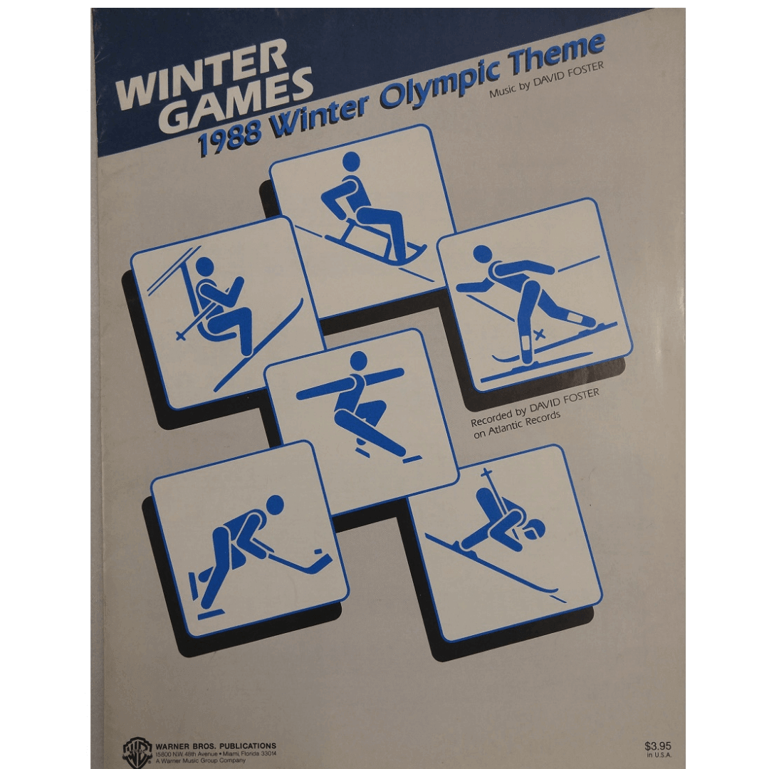 Winter Games 1988 Winter Olympic Theme Music by David Foster VS5085
