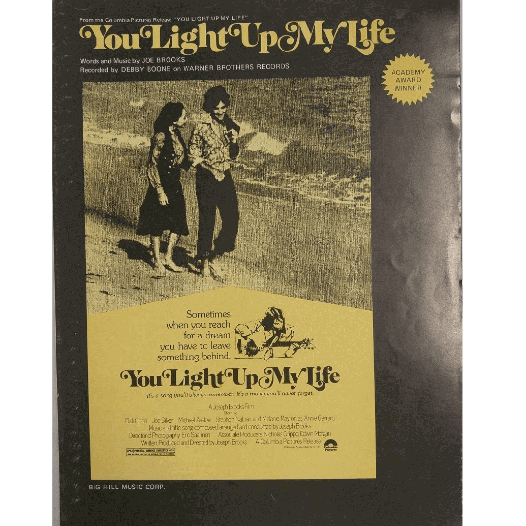 You Light Up My Life - Words and Music by Joe Brooks 4881YSMX