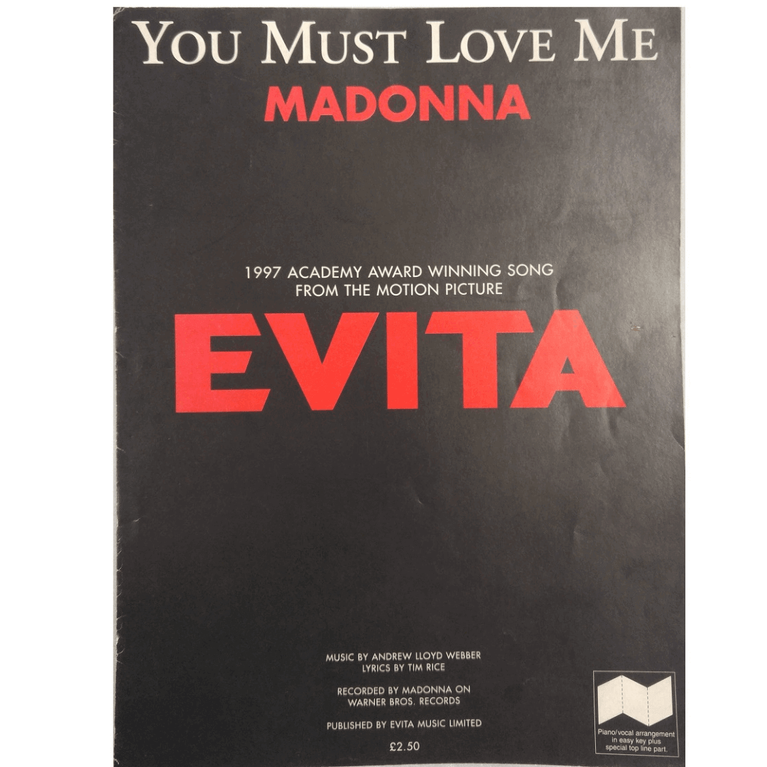 You Must Love Me Madonna - Evita EVM10088