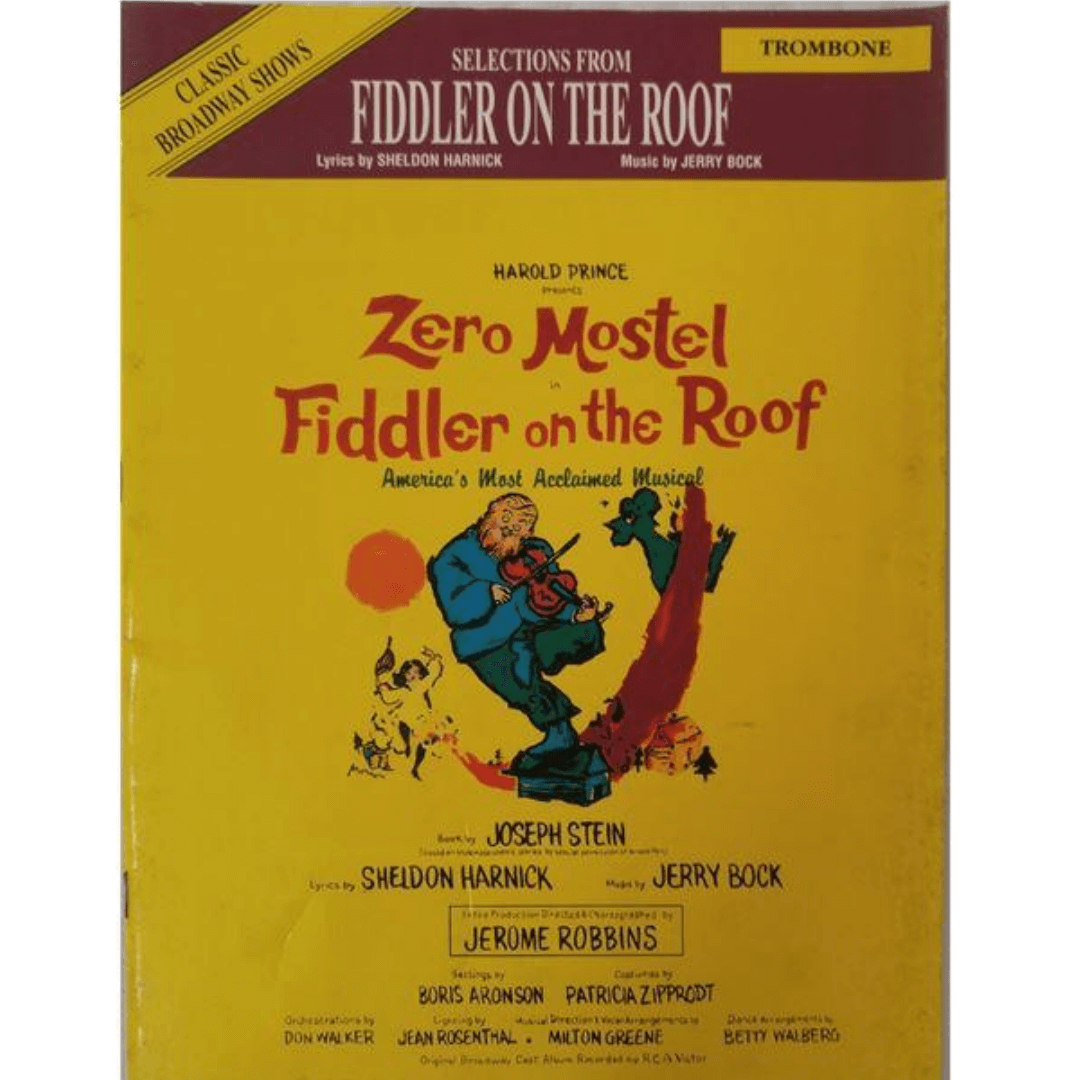 Zero Mostel in Fiddler On the Roof Trombone - IF9525