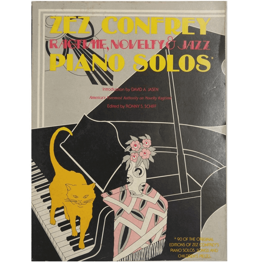 Zez Confrey - Pianos Solos Introduction by David A. Jasen - 11712