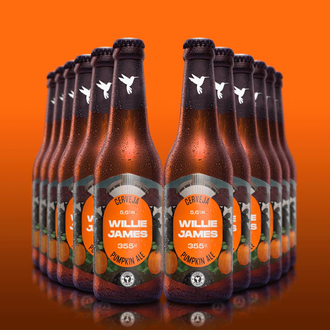 12x Willie James Pumpkin Ale