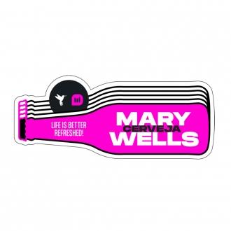 Adesivo Carteira-garrafa Mary Wells