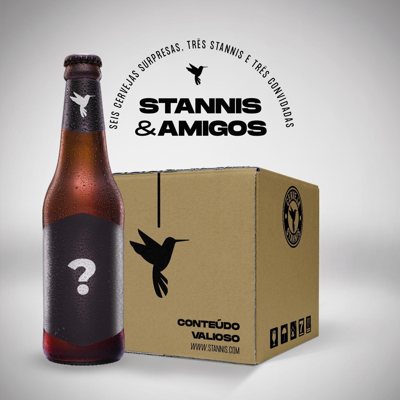Assinatura Box Stannis & Amigos (mensal)