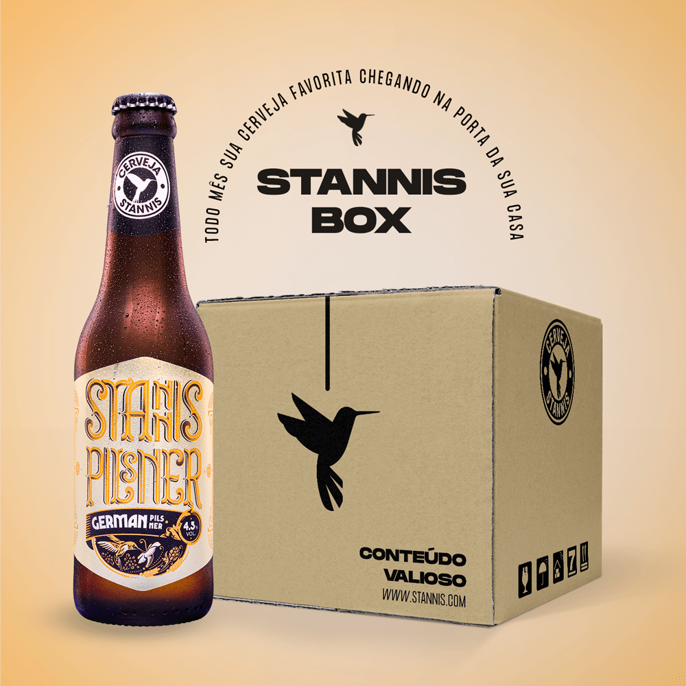Assinatura Box Stannis Pilsner (Mensal)