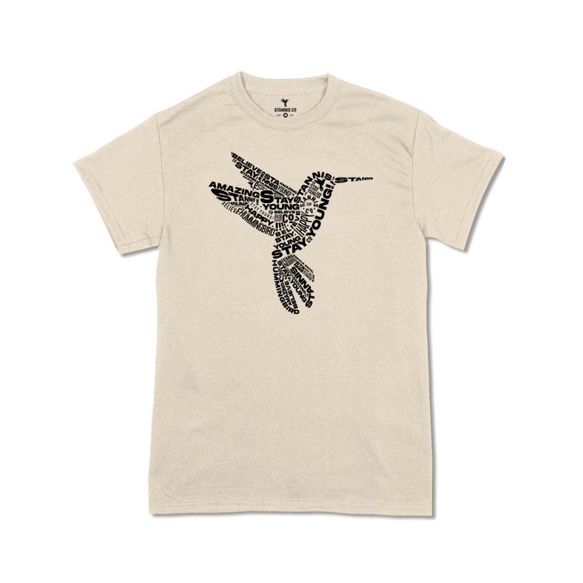 Camiseta Beija-flor Type - Algodão Organico