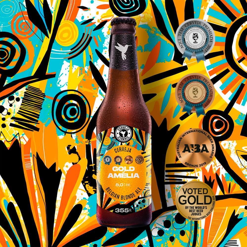 Gold Amélia - Belgian Blonde Ale