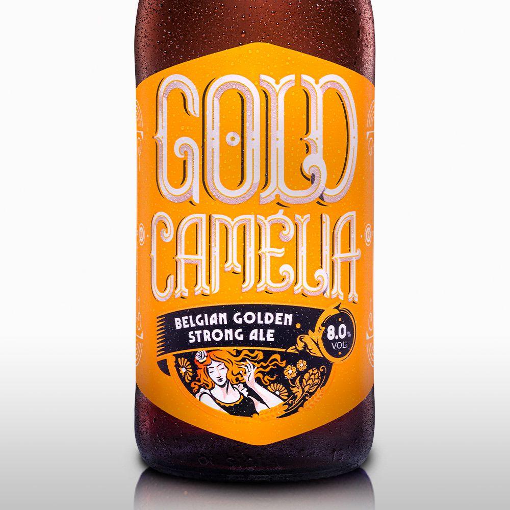 Gold Camélia