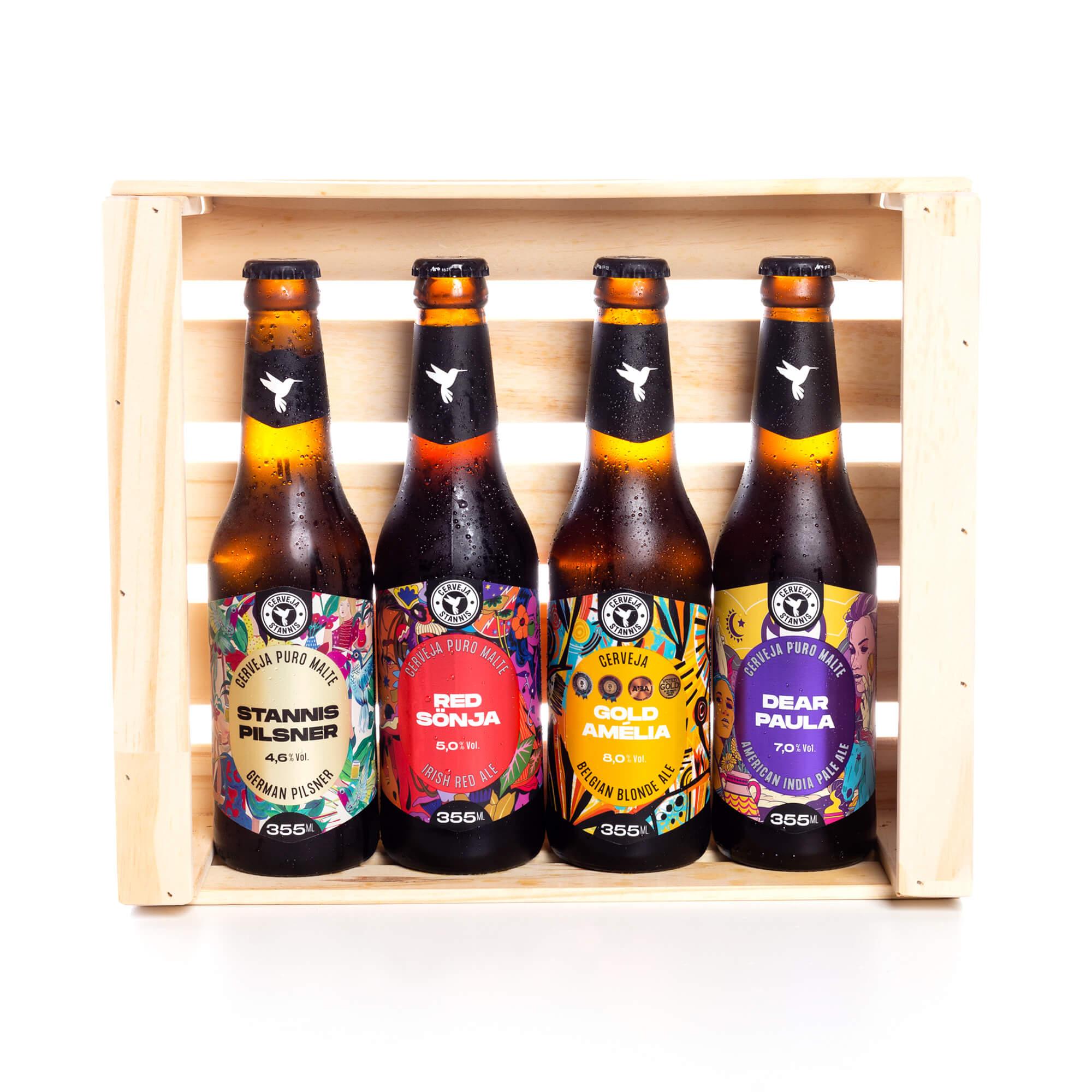 Kit Presente Mestre das Cervejas