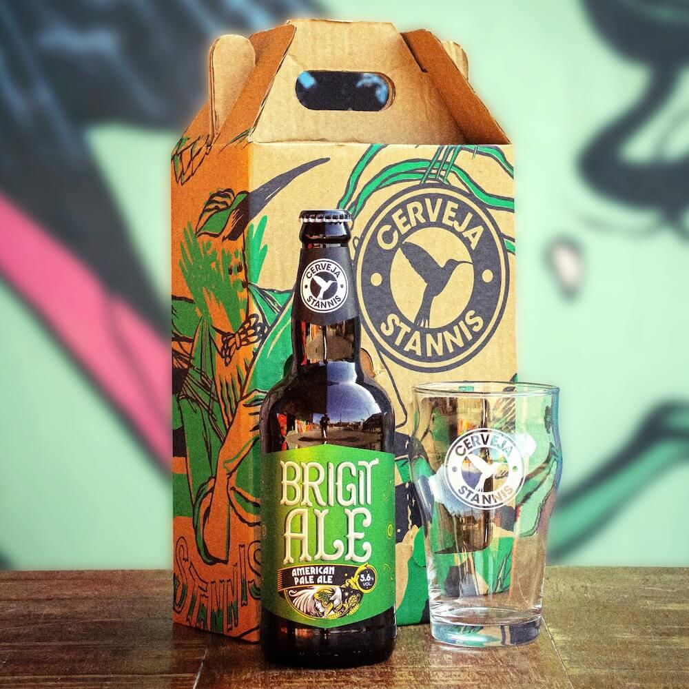Kit Presente — Brigit Ale + Copo Pint (EDITAR FRETE E PGTO ANTES DE ATIVAR)