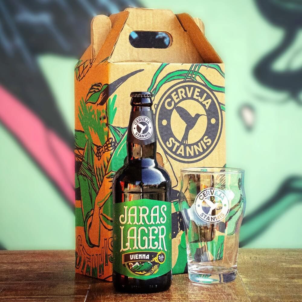Kit Presente — Jaras Lager + Copo Pint