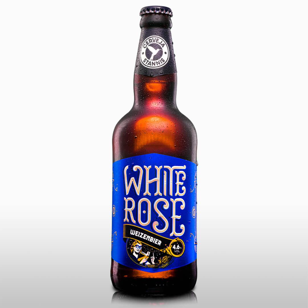 Kit Presente — White Rose + Copo Pint