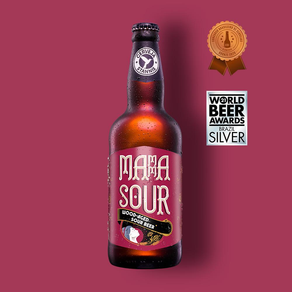 (Pré-venda) Mamma Sour - Wood Aged Sour Beer