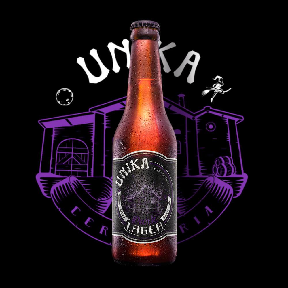 Rancho Queimado Dark Lager - Cervejaria Unika