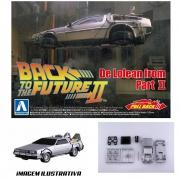 Aoshima Back To The Future Pullback Deloreanfrom PART II1/43
