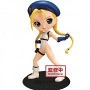 Bandai Qposket Street Fighter Cammy Blue Q posket