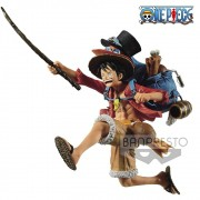 Banpresto Monkey D.Luffy Three Brothers One Piece