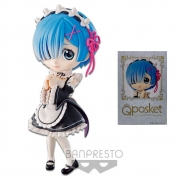 Banpresto Qposket REM Re Zero Q poskT Figurine Ram