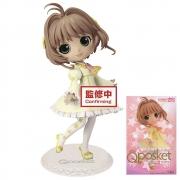 Banpresto Qposket Sakura Cardcaptor clear card