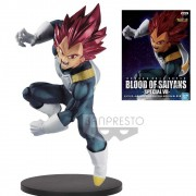 Banpresto Vegeta Super Saiyan God Red Blood of Saiyans Drago