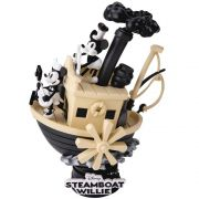 BEAST KINGDOM D-STAGE DIORAMA 017 STEAMBOAT WILLIW MICKEY